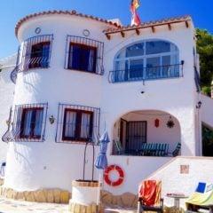 Villa met zeezicht te Benissa