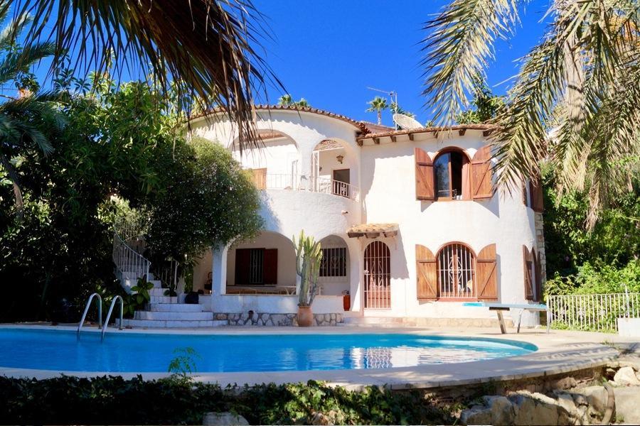 Uitzonderlijke villa te Benissa